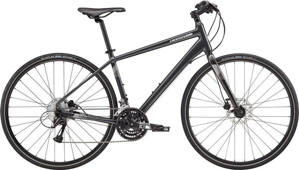 Image of Cannondale Quick 5 Disc 2017 Hybrid Bike