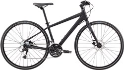 Image of Cannondale Quick 5 Disc Womens 2017 Hybrid Bike