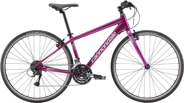 Image of Cannondale Quick 6 Womens 2017 Hybrid Bike