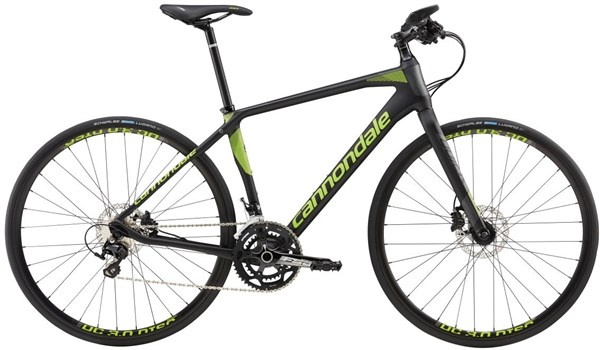 Image of Cannondale Quick Carbon 1 Flat Bar 2017 Road Bike