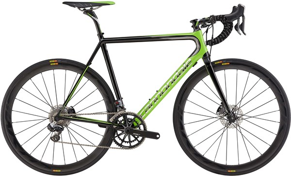 Image of Cannondale SuperSix EVO Hi-MOD Disc Team 2017 Road Bike