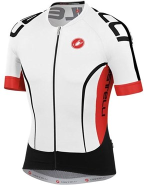Image of Castelli Aero Race 5.0 FZ Short Sleeve Cycling Jersey