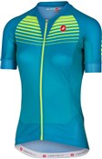 Image of Castelli Aero Race Womens FZ Short Sleeve Cycling Jersey SS17