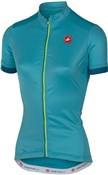 Image of Castelli Anima Womens Short Sleeve Cycling Jersey SS17