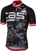 Image of Castelli Attacco FZ Short Sleeve Cycling Jersey SS17