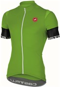 Image of Castelli Entrata 2 FZ Short Sleeve Cycling Jersey With Full Zip SS16