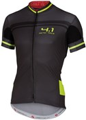 Image of Castelli Free Aero Race 4.1 Short Sleeve Cycling Jersey With Full Zip SS16