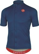 Image of Castelli Imprevisto Nano Short Sleeve Cycling Jersey With Full Zip SS17