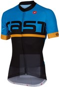 Image of Castelli Meta FZ Short Sleeve Cycling Jersey With Full Zip SS16