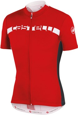 Image of Castelli Prologo 4 FZ Short Sleeve Cycling Jersey With Full Zip SS16