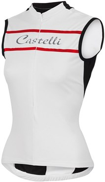 Image of Castelli Promessa Womens Sleeveless Cycling Jersey SS16