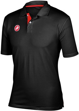 Image of Castelli Race Day Short Sleeve Polo Shirt SS17