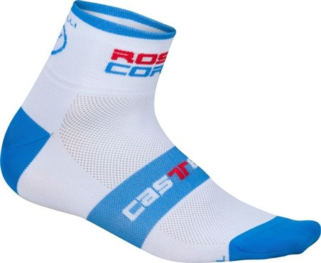 Image of Castelli Rosso Corsa 6 Sock AW16