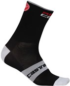 Image of Castelli Rosso Corsa 9 Cycling Socks SS17