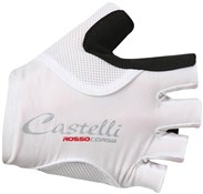 Image of Castelli Rosso Corsa Pave Womens Short Finger Cycling Gloves SS17