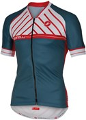 Image of Castelli Scotta FZ Short Sleeve Cycling Jersey With Full Zip SS16