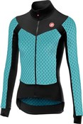 Image of Castelli Sfida Womens Long Sleeve Cycling FZ Jersey AW17