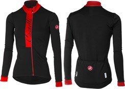 Image of Castelli Sorriso Womens Long Sleeve FZ Jersey AW16
