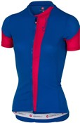 Image of Castelli Spada Womens FZ Short Sleeve Cycling Jersey SS17