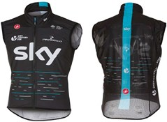 Image of Castelli Team Sky Pro Light Wind Cycling Vest / Gilet