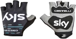 Image of Castelli Team Sky Roubaix Short Finger Cycling Gloves