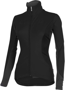 Image of Castelli Trasparente Due FZ Womens Long Sleeve Cycling Jersey With Full Zip SS16