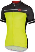 Image of Castelli Velocissimo FZ Short Sleeve Cycling Jersey With Full Zip SS16