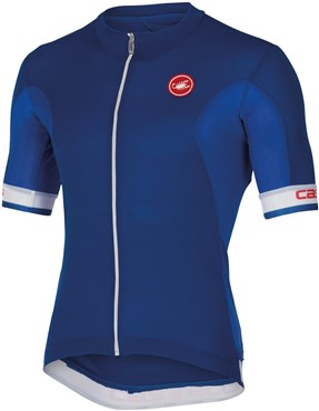Image of Castelli Volata FZ Short Sleeve Cycling Jersey With Full Zip SS16