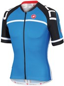 Image of Castelli Volo FZ Short Sleeve Cycling Jersey