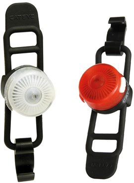 Image of Cateye Loop 2 Front / Rear USB Rechargeable Light Set