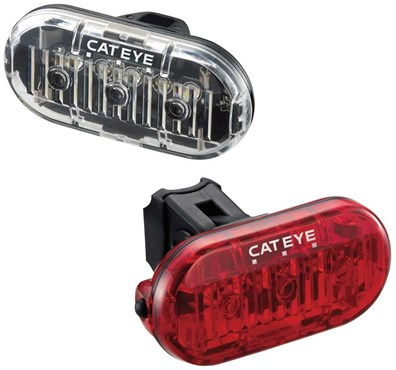 Image of Cateye OMNI 3 Front / Rear Light Set