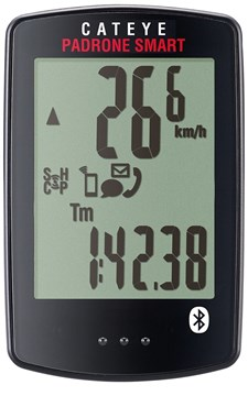 Cateye Padrone Smart Cycle Computer - Heart Rate and Cadence Sensor