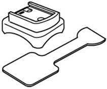 Image of Cateye Strada Wireless Bracket and Rubber Pad