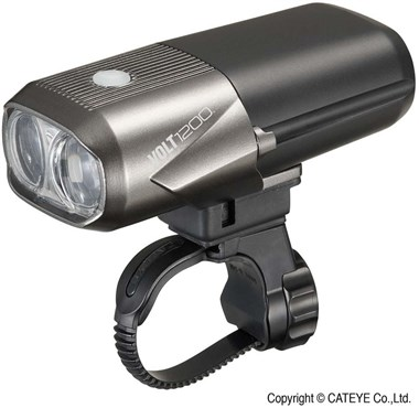 Image of Cateye Volt 1200 Rechargeable USB Front Light