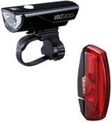 Image of Cateye Volt 200 / Rapid X Rechargeable Light Set