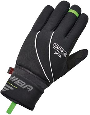 Image of Chiba Express+ Windprotect Showerproof Long Finger Cycling Gloves AW16