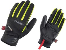 Image of Chiba Tour Plus Windstopper Long Finger Cycling Gloves AW16