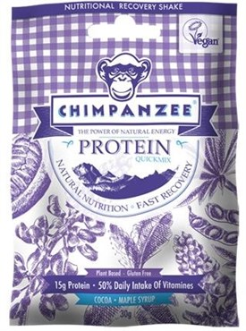 Image of Chimpanzee Quick Mix Protein Recovery Shake - 35g x Box of 15