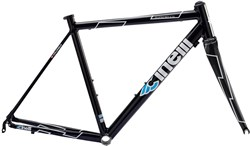 Image of Cinelli Experience Black Frameset 2018