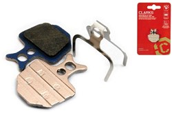 Image of Clarks Elite Semi-Metallic Disc Brake Pads for Formula Oro R1, MEGA, The ONE Disc Brakes