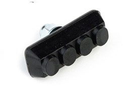 Image of Clarks MTB/BMX V-Brake Pads Integral Brake Block