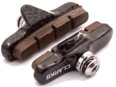 Image of Clarks Road Brake Pads w/Ultra-lite Carbon Carrier & Insert Pads for Carbon Rims