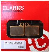 Image of Clarks Shimano Deore Hydraulic Disc Brake Pads Sintered