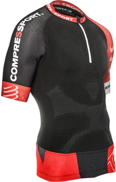 Image of Compressport Pro Racing Trail Short Sleeve Running Jersey V2 SS16