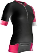 Image of Compressport Pro Racing Triathlon TR3 Womens Aero Top SS16
