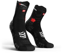 Image of Compressport Racing Socks V3.0 Run Hi SS17