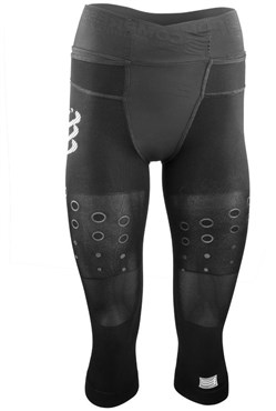 Image of Compressport Trail Running Womens Pirate 3/4 Tights SS16