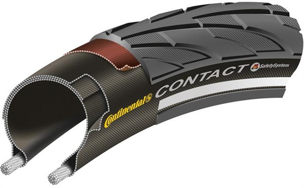 Image of Continental Contact II Hybrid Tyre