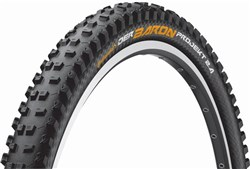 Image of Continental Der Baron Project ProTection Apex Black Chilli Folding MTB Tyre