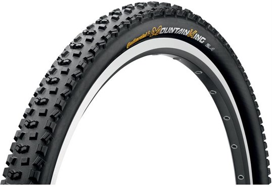 Image of Continental Mountain King II RaceSport 650b Black Chili Folding MTB Tyre